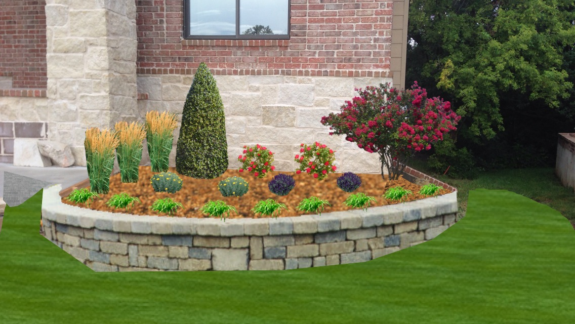 Garden Ideas With Bricks backyard landscaping with bricks: front yard landscaping design
