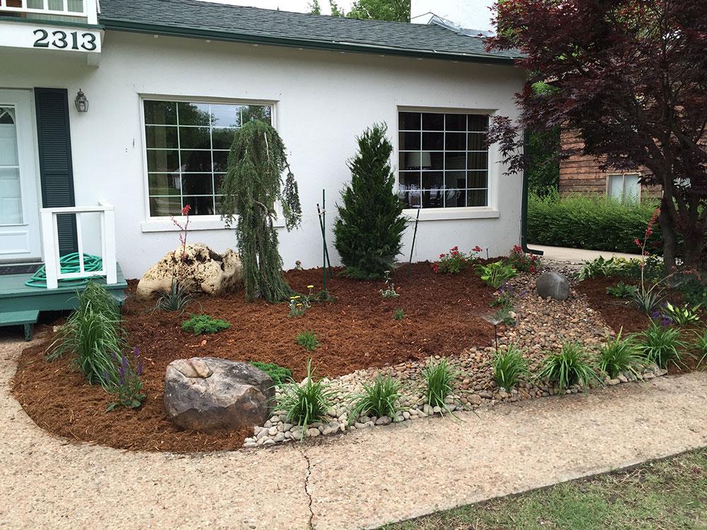 Landscape design increases property value sod installation for Landscape design and installation
