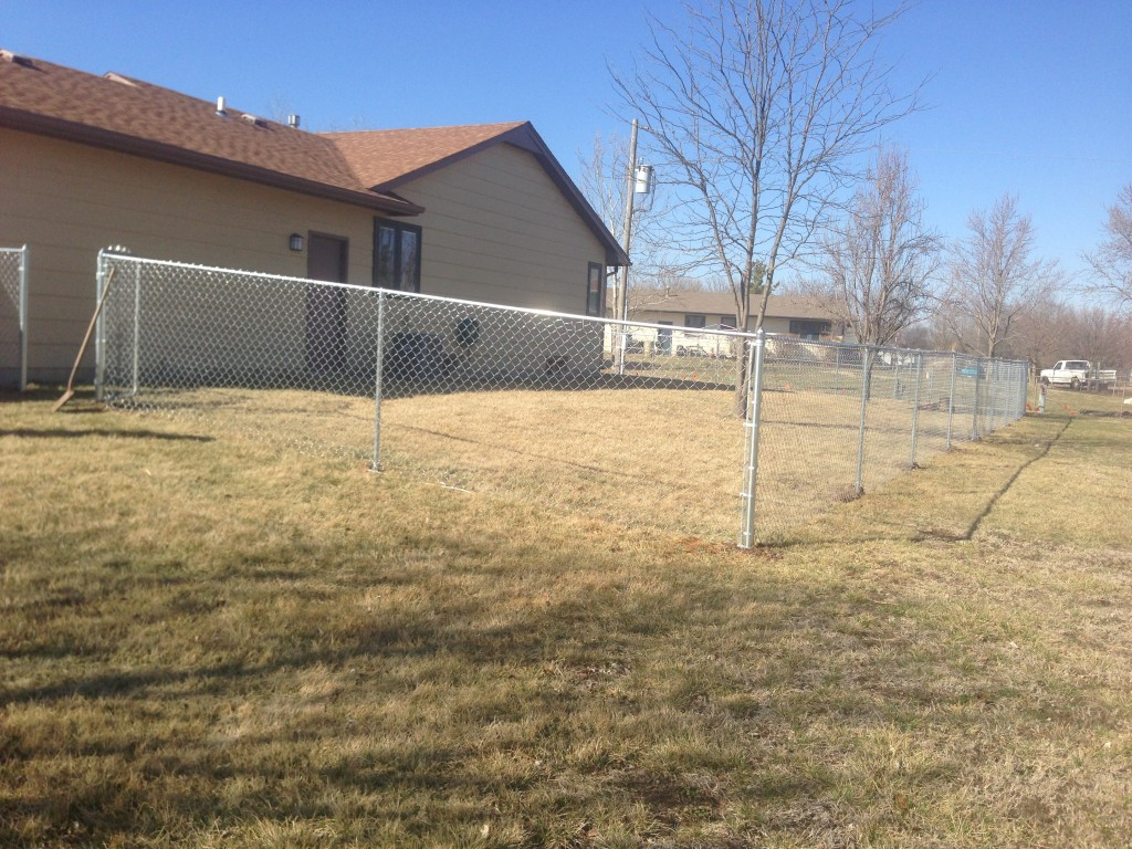 Chain Link Fence Installation - Wichita