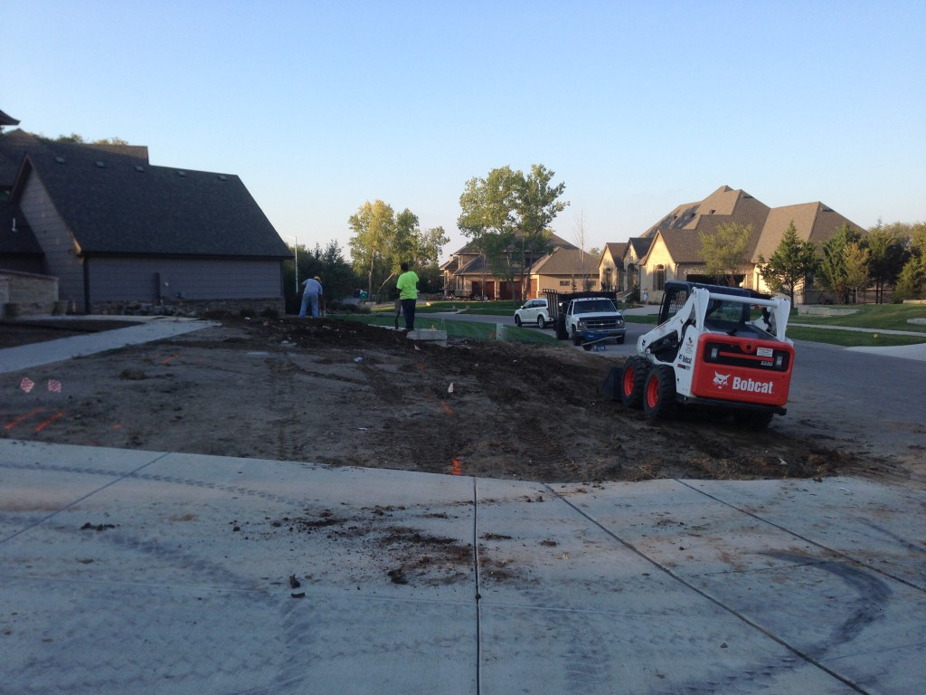 Installing Sod - Wichita
