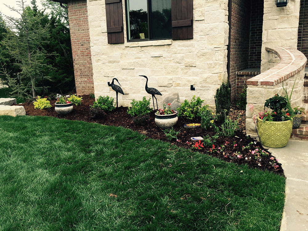 Landscape design increases property value sod installation for Lawn and garden services
