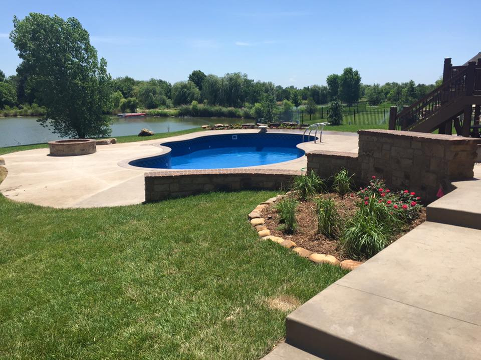 Landscape Construction - Hardscapes - Fire Pit