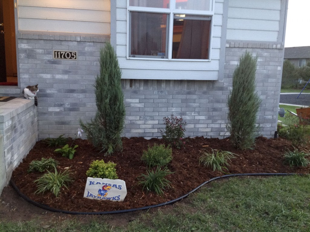 Landscaping Services - After - Wichita