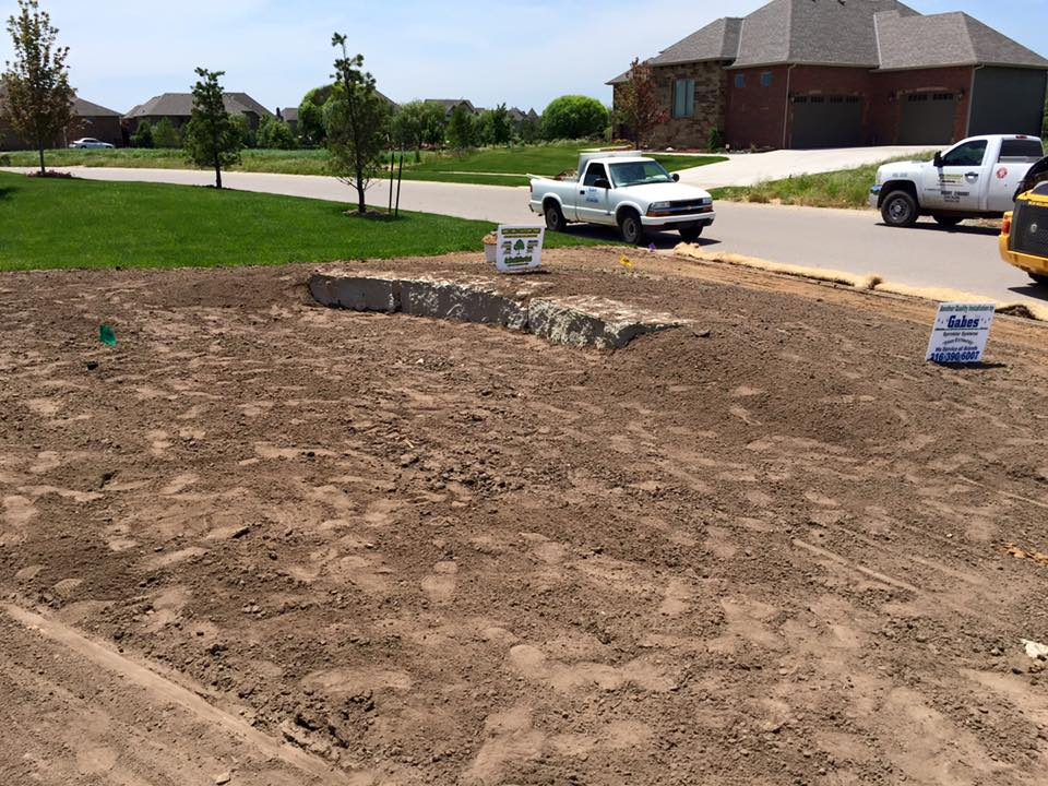 Landscaping a New Home - Wichita