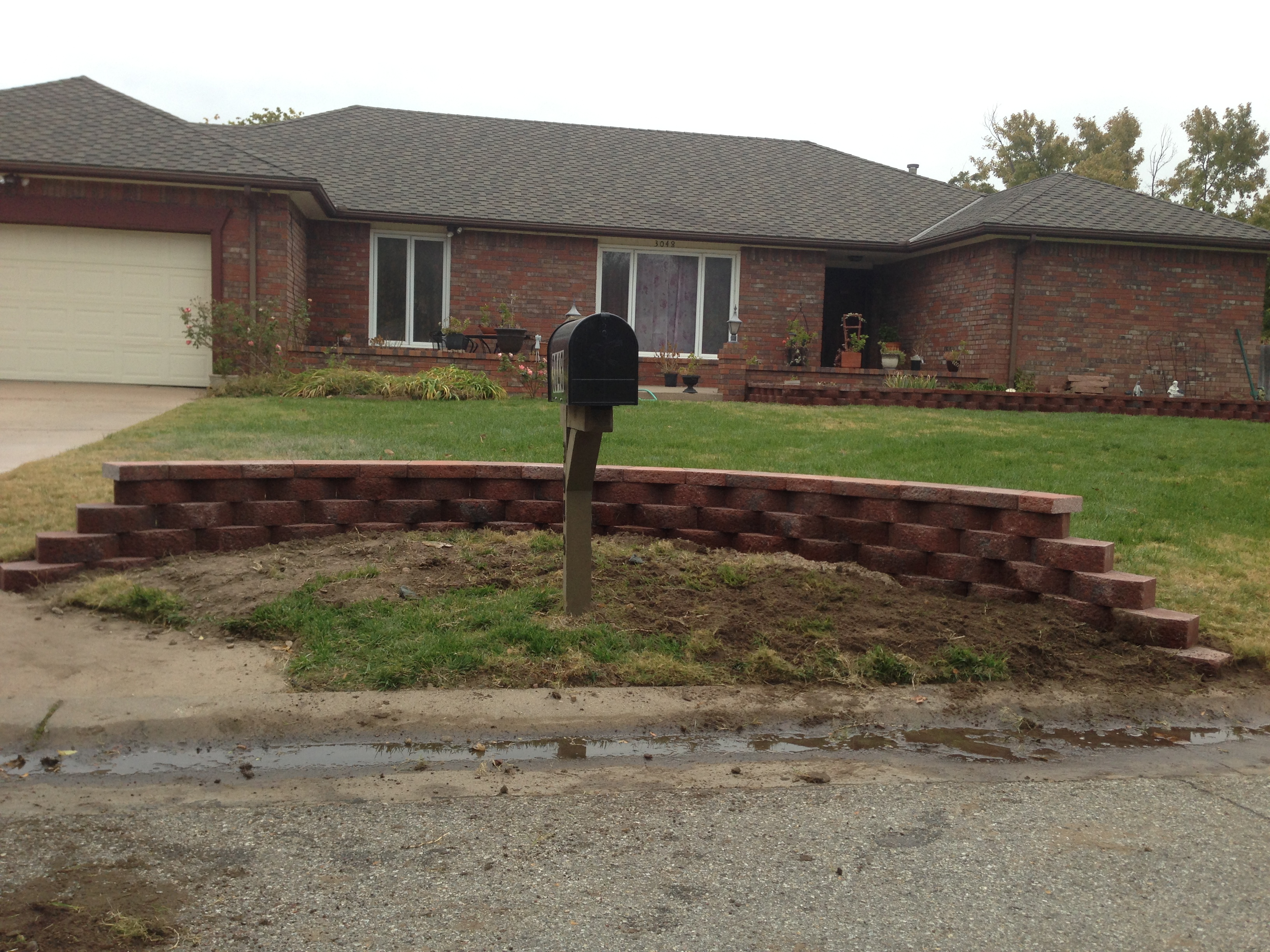 Wall Construction Services : Landscape construction daniels lawn and landscaping services
