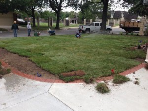 Sod Installation Wichita