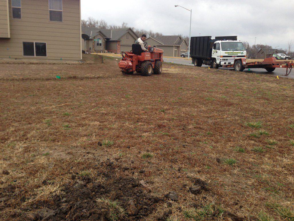 Installing a Sprinkler System - Wichita