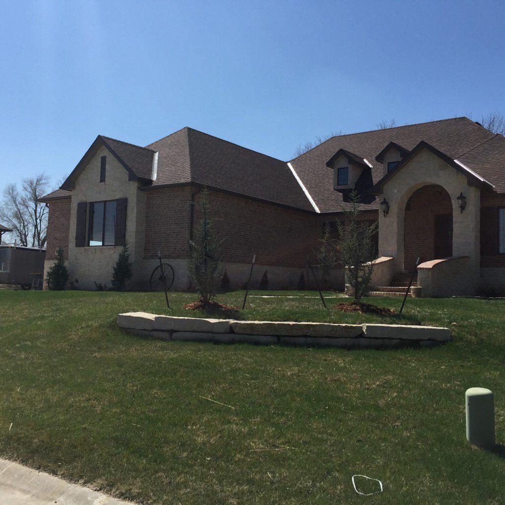 New Home Landscaping Design - Wichita