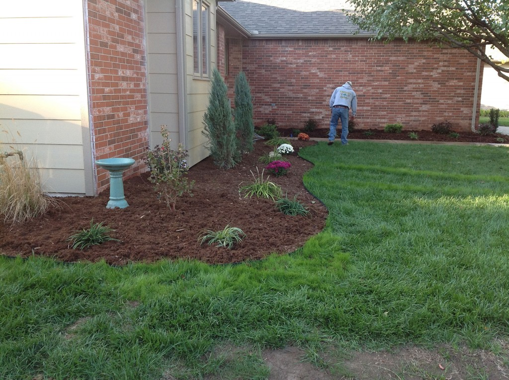 Landscape Design Service - After - Wichita