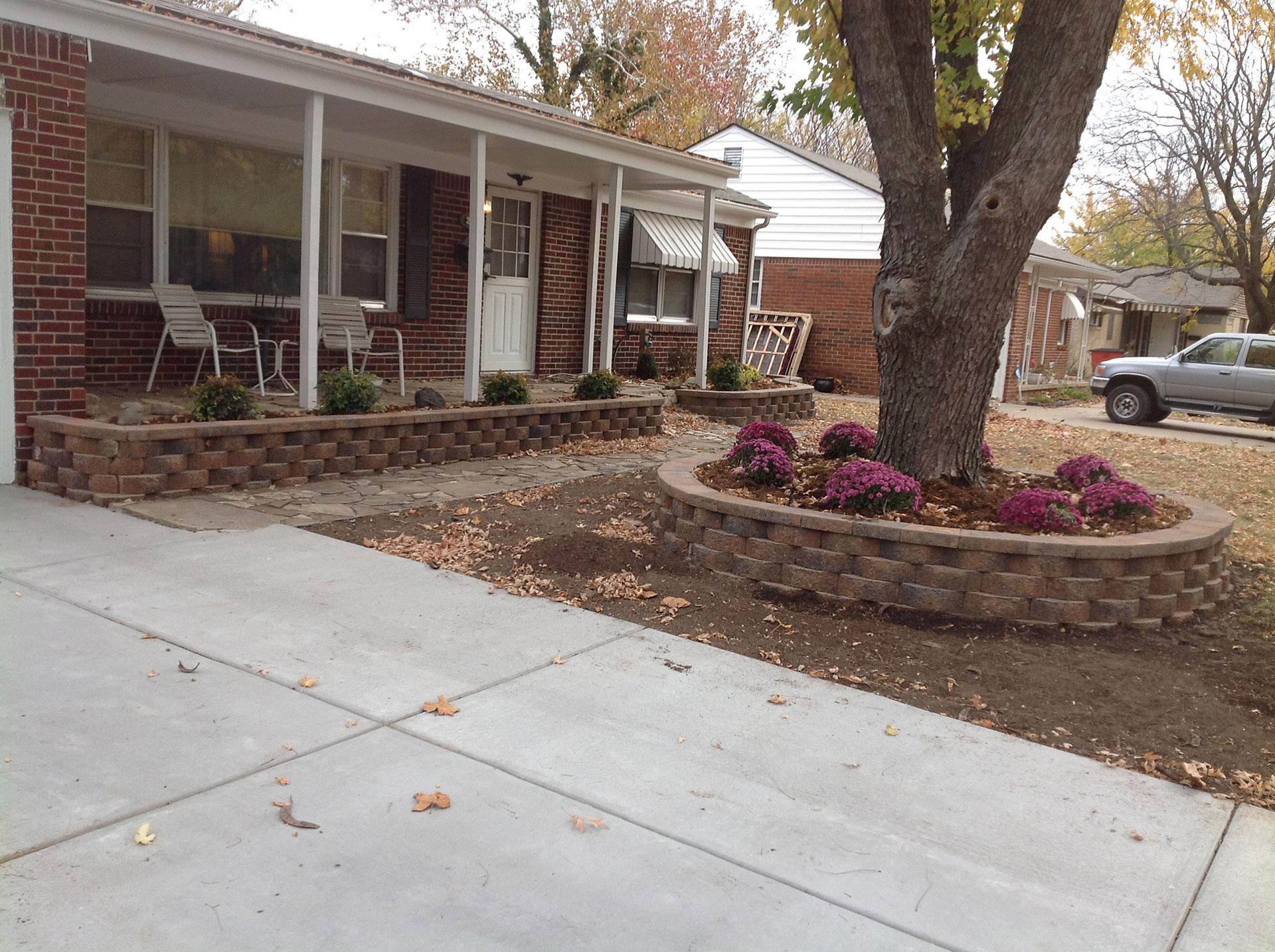 Landscape Construction Daniels Lawn And Landscaping Services