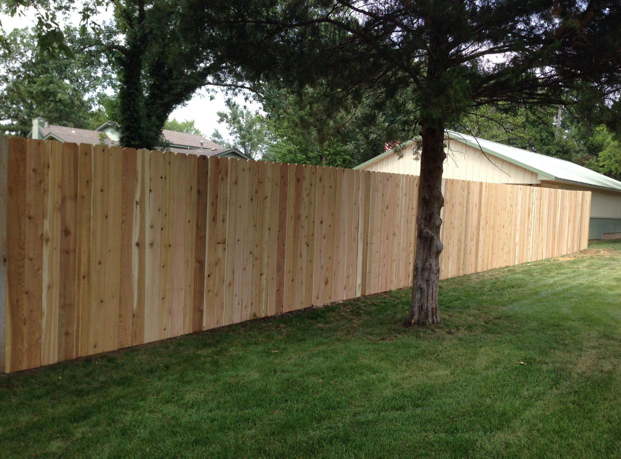 Wood Fence Installation Wichita Fence Installation