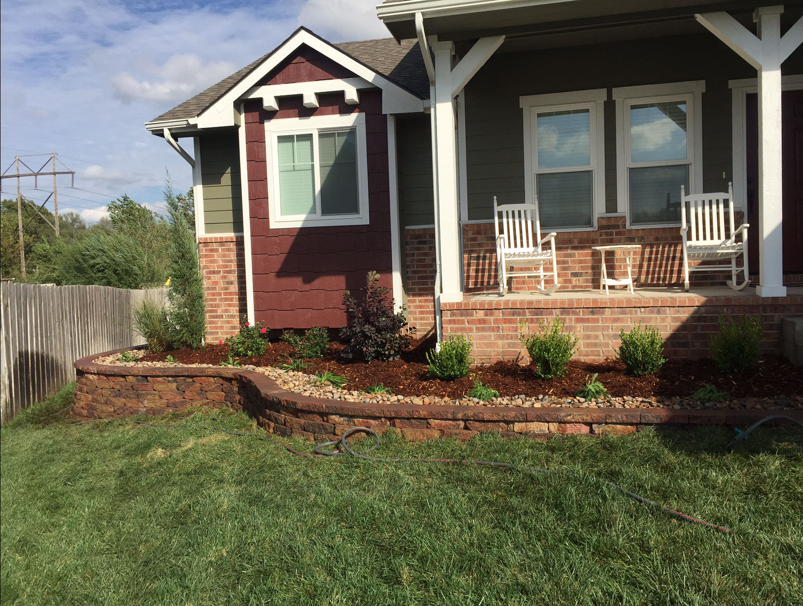 Landscaping Ideas Landscaping Wichita Ks Front Yard Ideas