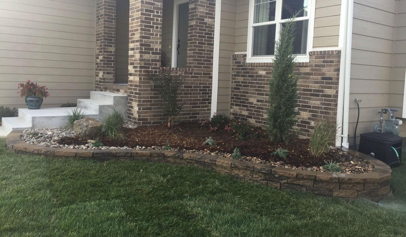 Landscaping Ideas Landscaping Wichita Ks Front Yard Ideas
