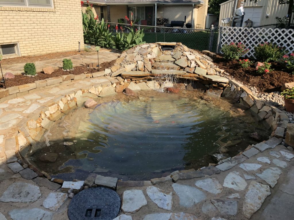 Water Features | Landscape Construction - Hardscapes | Wichita, Kansas