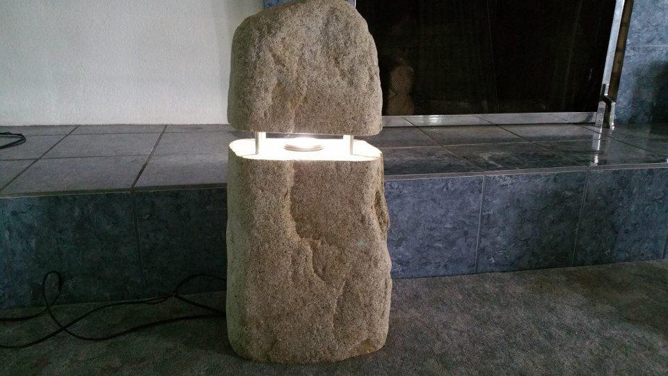 Wichita Custom Stone Lighting | Stone Art
