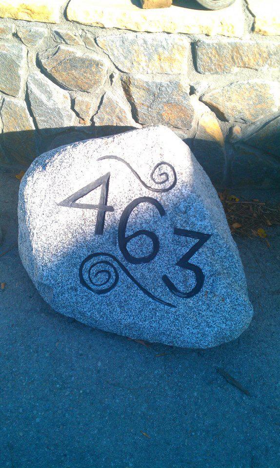 Wichita  Stone Marker |  Stone Art