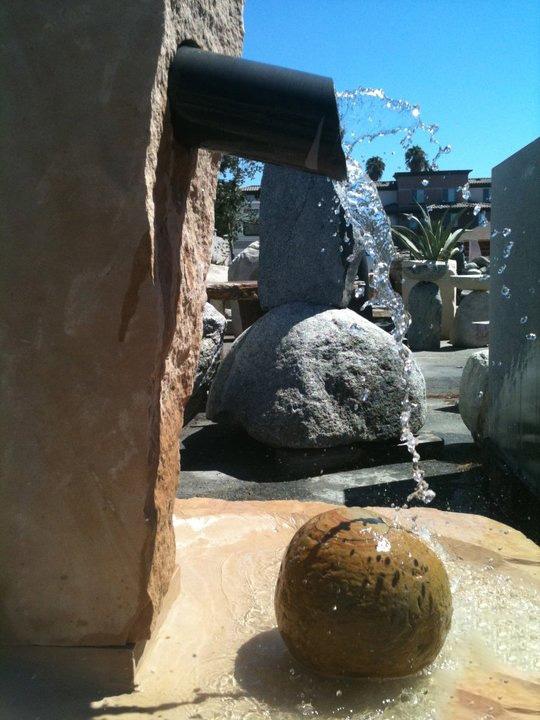 Custom Stone Fountain | Wichita Stone Art